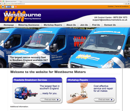 Westbourne Motors - Roadside Rescue