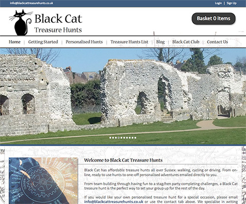 Black Cat Treasure Hunts