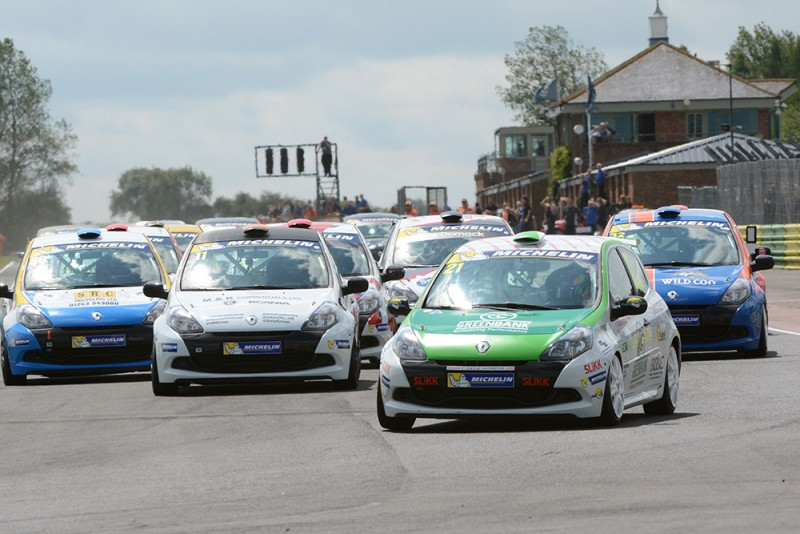 Michelin Clio Cup Series Website