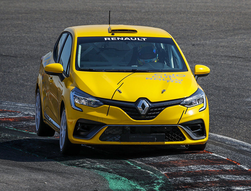 Clio Cup UK website