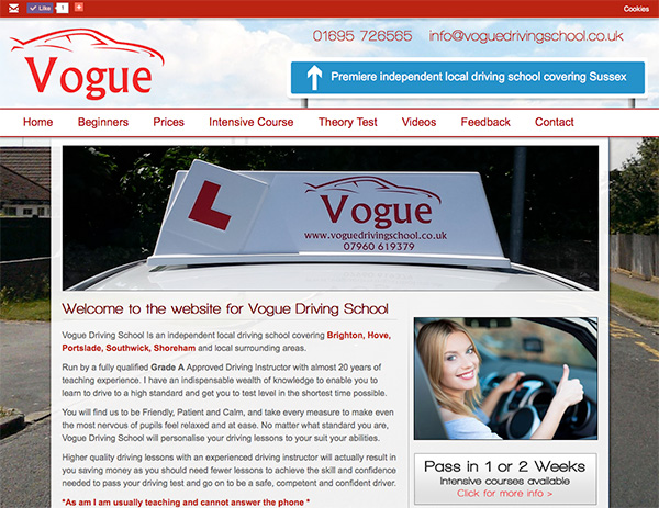 Vogue Driving School - Click here to view this news entry