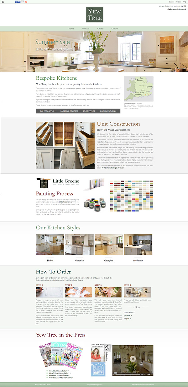 Yew Tree Kitchens - Click here to view this news entry